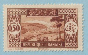 LEBANON 117  MINT HINGED OG * NO FAULTS EXTRA FINE !