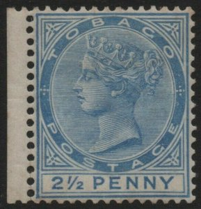 TOBAGO-1882-84 2½d Bright Blue Sg 16a MOUNTED MINT V40346