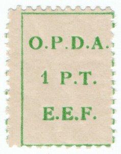(I.B) Palestine Revenue : Ottoman Public Debt 1PT (OPDA)