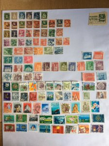 Switzerland 100+ stamps - Lot E