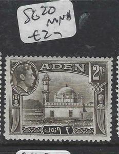 ADEN  (P0406B)  KGVI  2A  SG 20   MNH