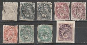 #109-11,113,115 France Used