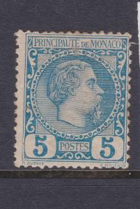 Monaco a MH 5c from 1885