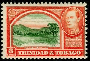 TRINIDAD AND TOBAGO SG251, 8c sage-green & vermilion, M MINT.