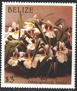 Belize. 1987. 987 from the series. Flowers, flora. MNH.