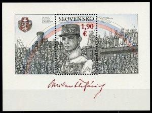 Slovakia 2019 MNH WWI WW1 Milan Stefanik Czechoslovak Legions 1v M/S Stamps