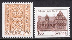 Sweden 1408-1409 MNH VF