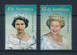 [73858] Australia 2002 Royalty Golden Jubilee Queen Elizabeth  MNH