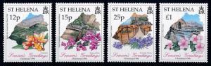 [67051] St. Helena 1996 Flora Flowers Blumen Christmas  MNH