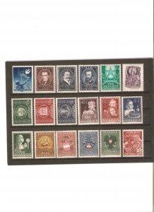 Austria 1949 cpl. year, NH