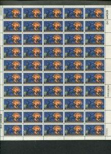 Legend of Sleepy Hollow 1974 Mint NH SHEET of 50 Stamps Scott #1548 Halloween