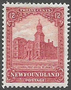 Newfoundland Scott Number 154 FVF POG