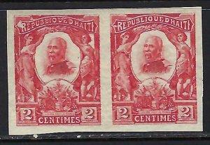 Haiti 97 MOG PAIR IMPERF K1041