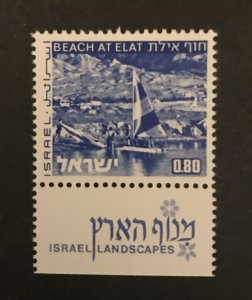 Israel 1974 #470a Tab, MNH