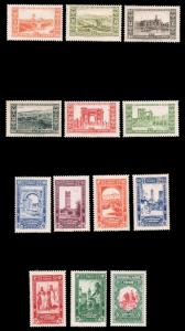ALGERIA #B14-B26 MLH 1930 FRENCH OCCUPATION CENTENARY SEMI-POSTAL SET CV$153