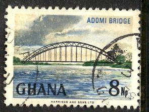 Ghana; 1967: Sc. # 293: O/Used Single Stamp