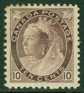 EDW1949SELL : CANADA 1898 Scott #83 Very Fine, Mint OG. Nice stamp. Catalog $425