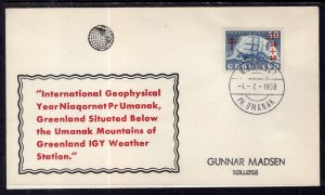 Greenland Geophysical Year 1958 Cover