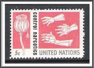 UN New York #131 Narcotics Control MNH