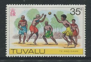 Tuvalu - Scott 33 - Pictorial Definitives -1976 - MVLH - Single 35c Stamp