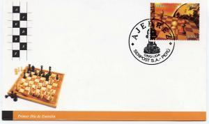 Peru 2004 Sc#1365   CHESS  Single (1) F.D.C.