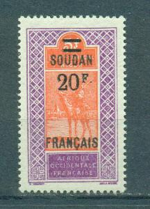 French Sudan sc# 60 mlh cat value $30.00
