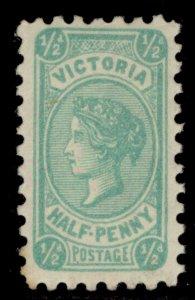 AUSTRALIA - Victoria QV SG384, ½d blue-green, M MINT.