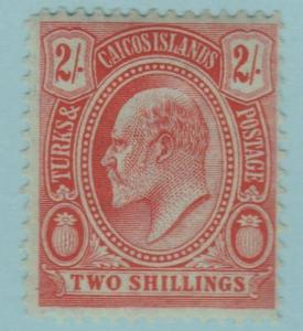 Turks and Caicos Islands 21 Mint Hinged OG - No Faults Very Fine