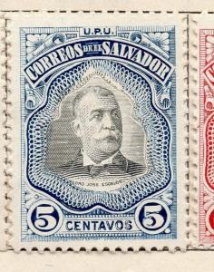 Salvador 1906 Issue Fine Mint Hinged 5c. 141480