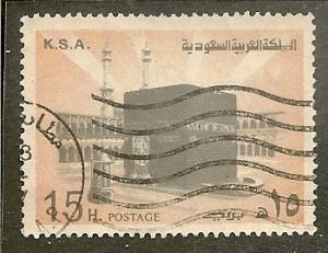 Saudi Arabia        Scott 693a  Ka'aba     Used
