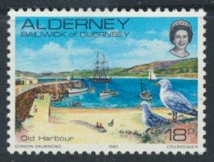 Alderney  SG A12  SC# 12 1983 Definitive  Harbour  MNH  see scan