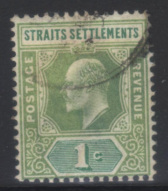 STRAITS SETTLEMENTS 1902-1903 CROWN CA SG110 USED