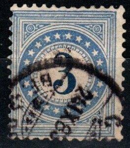Switzerland #J3 F-VF Used CV $25.00 (X9757)