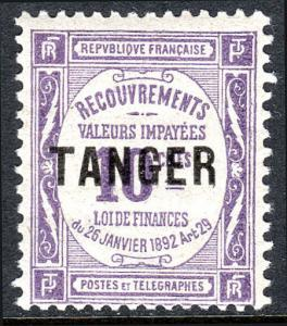 French Morocco J43, MNH. Postage Due Stamps of France. Overprinted, 1918