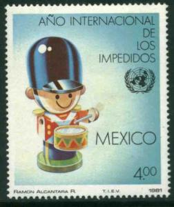 MEXICO 1239, International Year of the Disabled. MINT, NH. VF.