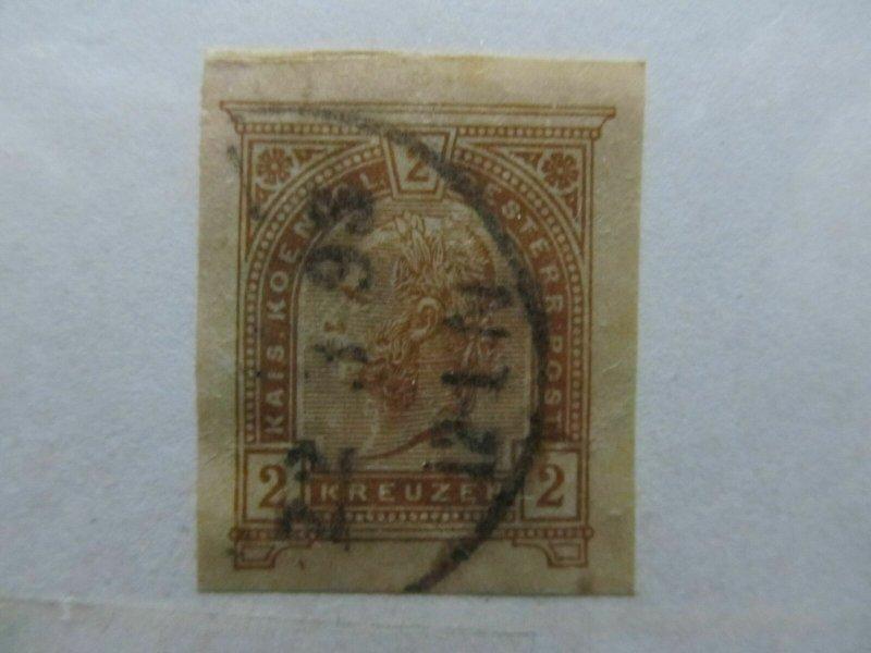 Austria Österreich Autriche Postal Stationery Cut Out A14P9F35