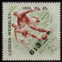 HUNGARY 1953 - Scott# C128 Soccer Winner Set of 1 NH