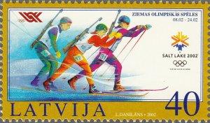 Latvia 2002 #546 MNH. Olympics