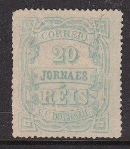 BRAZIL ^^^^^1890  BOB  sc# P20  NEWSPAPER  CLASSIC $ 70.00@ lar3921bza