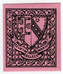 (I.B) Cinderella Collection : Selwyn College, Cambridge