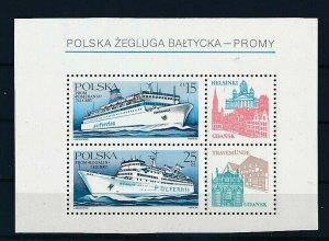 D202637 Boats S/S MNH Poland
