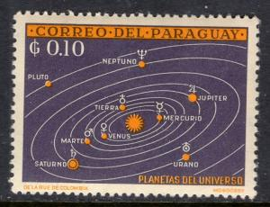 Paraguay 728 Space MNH VF