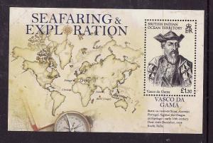 BIOT-Sc#371-unused NH sheet-Maps-Vasco Da Gama-Explorer-2009-