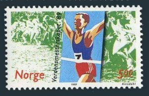 Norway 937,MNH.Michel 1014. Cross-Country Running Championships.1989.