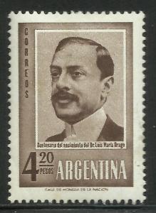 Argentina 1960 Scott# 717 MH