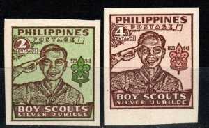 Philippines #528-9 MNH CV $2.75  (X1362)