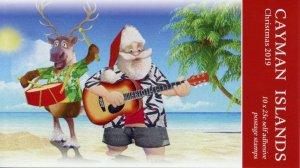 Cayman Islands Christmas Stamps 2019 MNH Santa Reindeer Trees 10v S/A Booklet