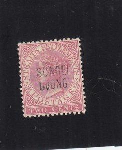 Malaya Federated States: Sungei Ujong: Sc #24, MH (35504)