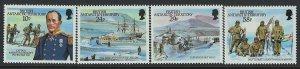 Brit. Ant. Arctic Territory Scott 137-140 MNH! Complete Set!
