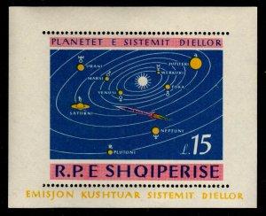 Albania - Mint Souvenir Sheet Scott #786 (Solar System)